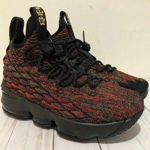 Nike LeBron 15 XV BHM LMTD (GS) Size 5Y 943762-900